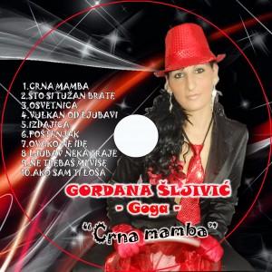 Gordana Sljivic Goga - 2014 - Crna Mamba (CD)